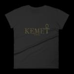 Kemet est – Hieroglyph – Women's short sleeve t-shirt